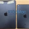 Rückseite des iPad 5 gesichtet