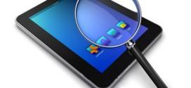 Tablet PC Testbericht mit Lupe
