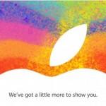 Apple Einladung Event am 23. Oktober