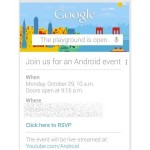Google Einladung Event 29. Oktober
