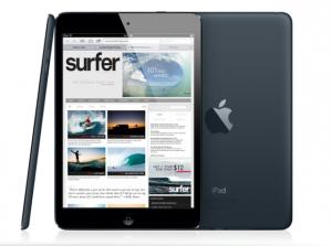 iPad Mini seitlich, hinten und vorne