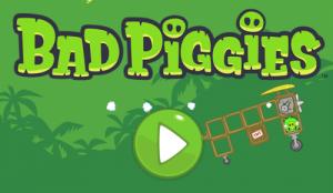 Bad Piggies Logo bei Fazit