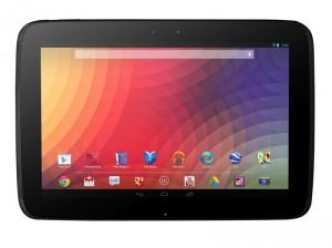 Das Google Nexus 10 Tablet von Samsung