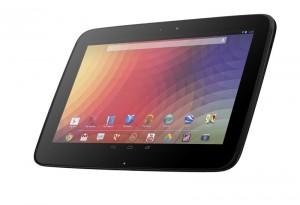 Nexus 10 Tablet vorne