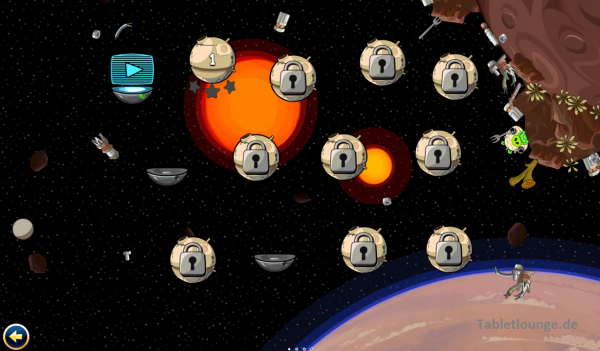 Angry Birds Star Wars Level