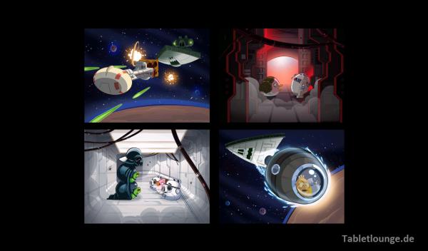 Angry Birds Star Wars Einleitung