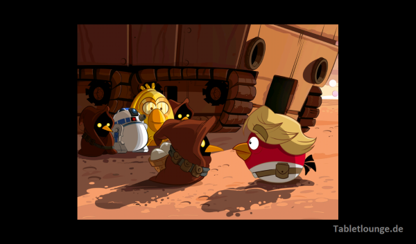 Angry Birds Star Wars Luke Skywalker