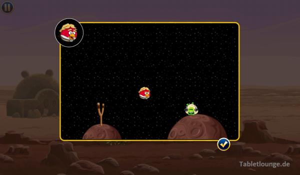 Angry Birds Star Wars Schleuder