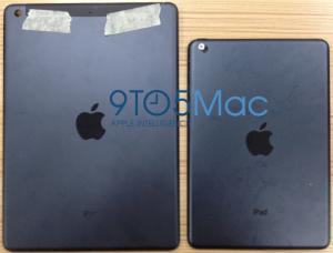 iPad 5 Rückseite und iPad Mini 2