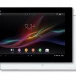 Sony Xperia Tablet Z Vorder- und Rückseite