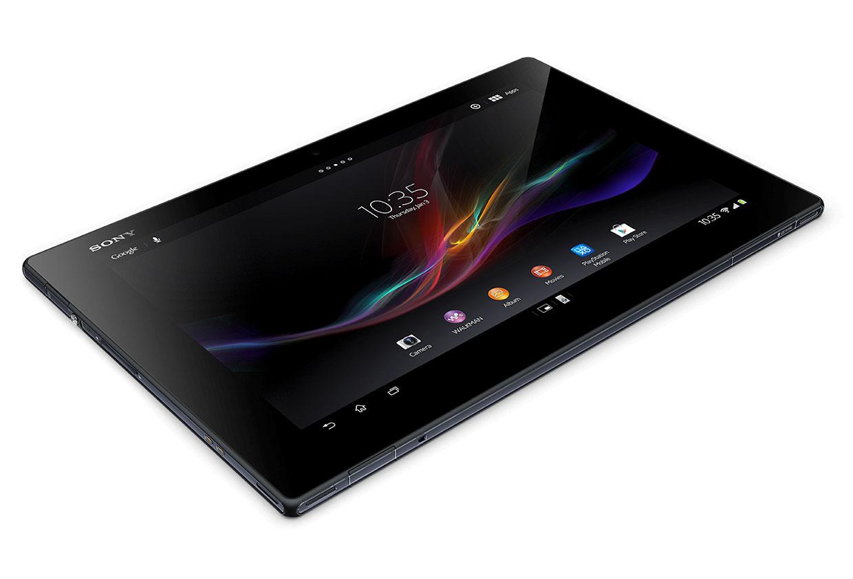 Sony Xperia Tablet Z schräg von vorne