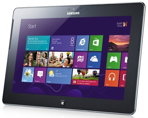 Samsung Ativ Tablet mit Windows RT